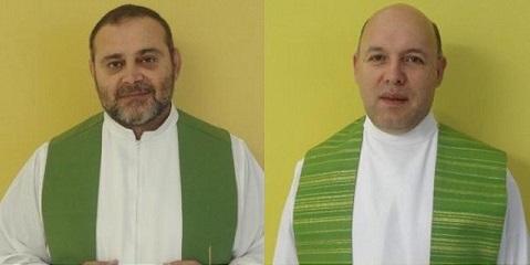 *Padres Márcio Cabral e Cássio Barbosa