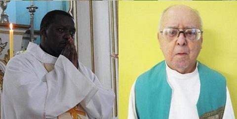Padre Márcio Vinicius e Monsenhor Hernani